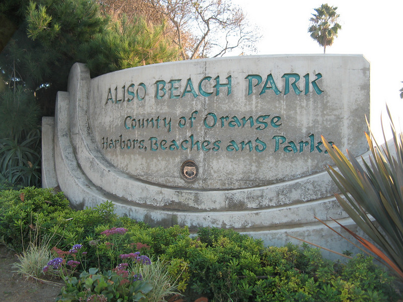 In the afternoon, Barb drove us down to Laguna Beach where we made a brief stop at the Aliso Beach Park.