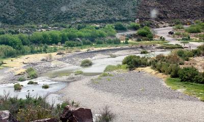 The Rio Grande near Presidio