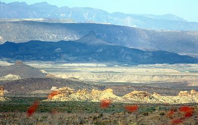 View across the Rio Grande Valley