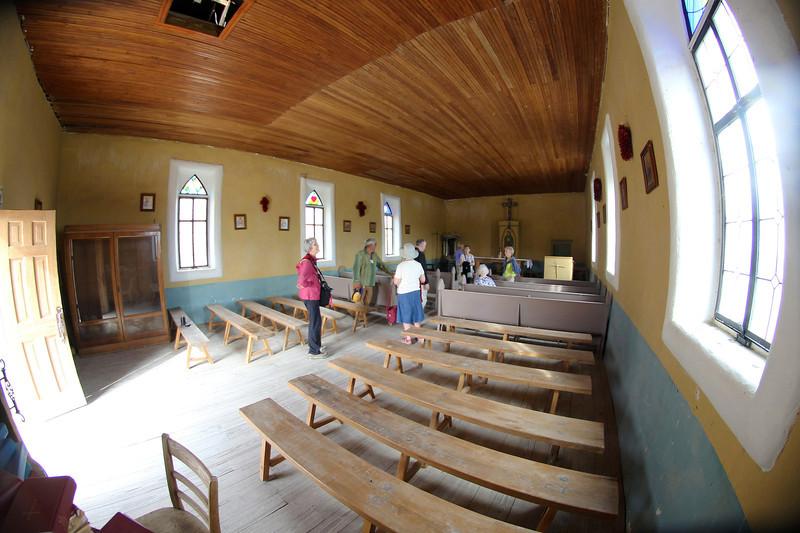 Inside the Terlingua Church