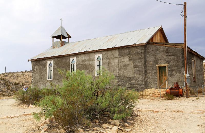 The Terlingua Church were Darren Wallis was married 7 weeks earlier.