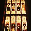 Cambridge, UK, mar 1971. Kings College Chapel windows