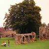 Bury St Edmunds, The Abbey grounds, sep 1971a