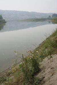 The calm Missouri River.