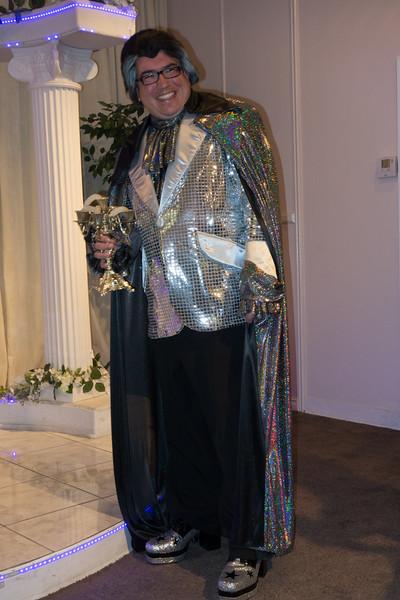 Warren/Liberace  and his limp candelabra