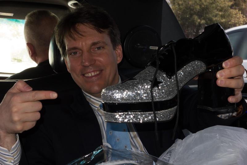 Warren's shoe(s) (& Bill)