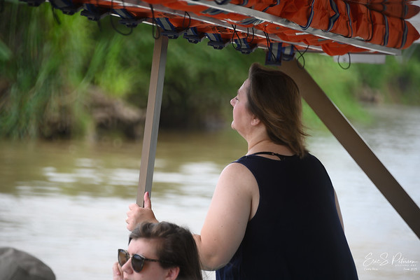 We took a river boat tour where Oscar pointed out all sorts of native wildlife.