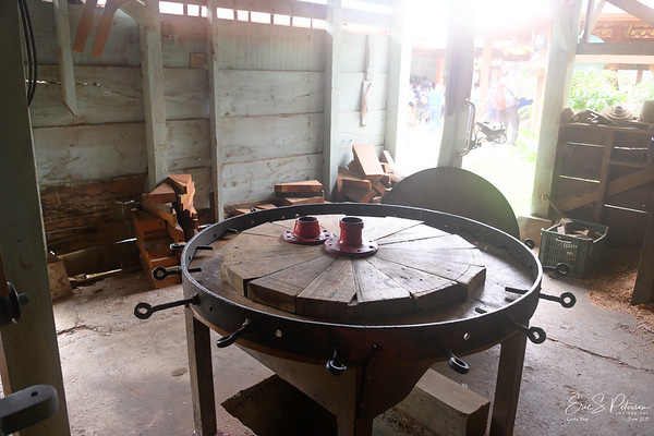 Wheel construction table.