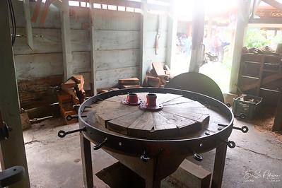 Wheel construction table.