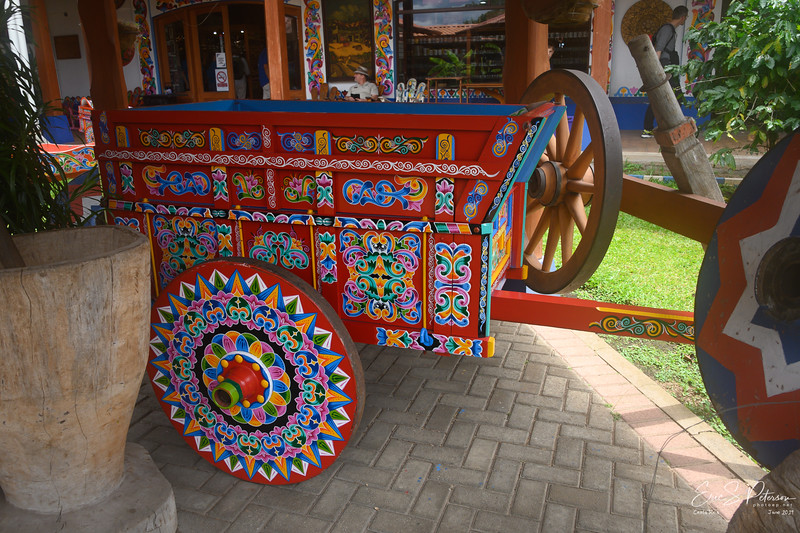 A finished ox cart.