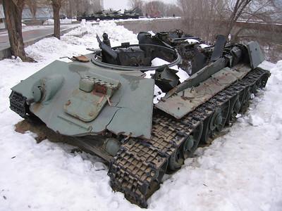 Indeling T34 tank