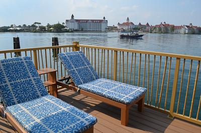 Disney's Bora Bora Bungalow - deck