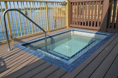 Disney's Bora Bora Bungalow - deck and plunge pool