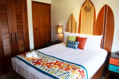 Disney's Bora Bora Bungalow - guest bedroom
