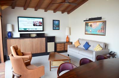 Disney's Bora Bora Bungalow - living room