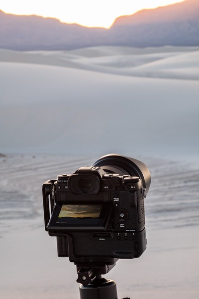 PHOTOGRAPHING A TIME LAPSE MOVIE