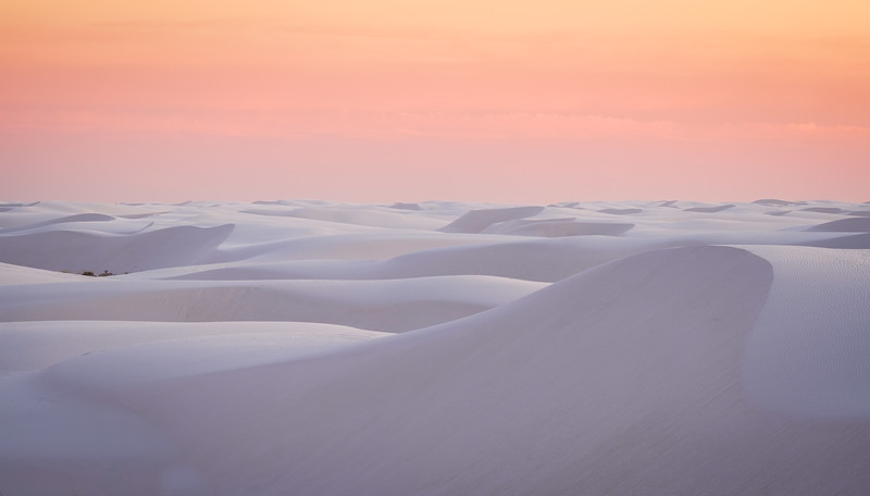"""""""PINK""""  GLOW ON THE DUNES AT DUSK"""