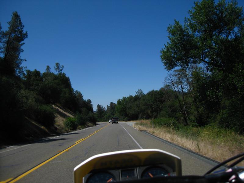 CA SR-49 Southbound.
