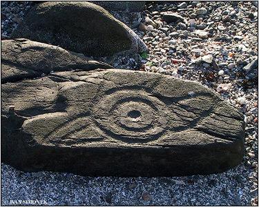 """""""JAY PETROGLYPH 1"""", Wrangell, Alaska, USA."""