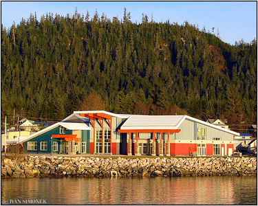 """NOLAN CENTER"", Wrangell museum, Alaska, USA."