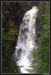 """RAINBOW FALLS"", Wrangell, Alaska, USA."