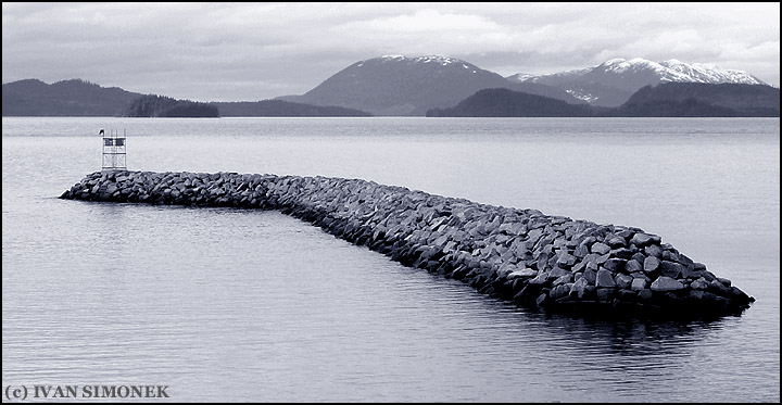 """THE WALL"",Heritage harbor,Wrangell,Alaska,USA."