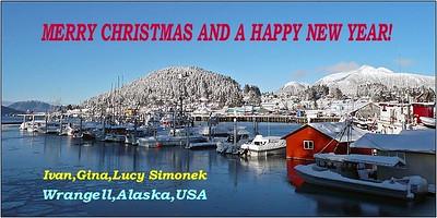 """SEASON`S GREETINGS"",Wrangell,Alaska,USA."