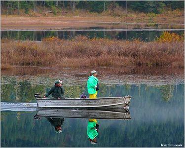 """NATURAL MIRROR"", Pat`s lake, Wrangell, Alaska, USA.-----""PRIRODNI ZRDCADLO""."