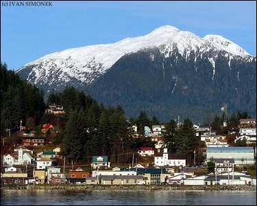 """OUR TOWN"",Wrangell,Alaska,USA."