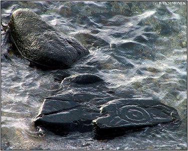 """""""JAY PETROGLYPH 3"""", Wrangell, Alaska, USA."""