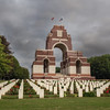 Thiepval WWI cemetery