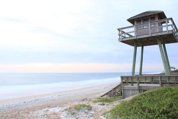 WWII Coastal Watch Tower in Ormond Beach, FL
