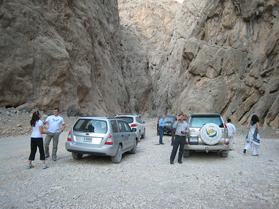 Photo stop in the wadi
