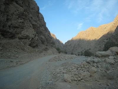 Heading into Wadi Bih
