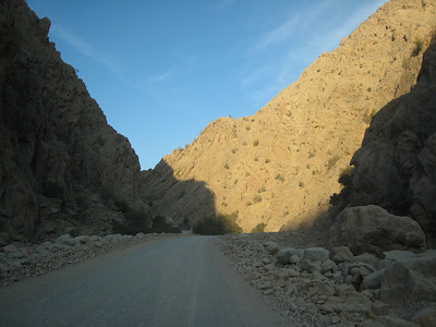Sunset in the wadi