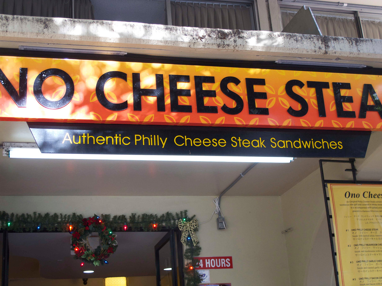 I have my doubts about any Philly Cheesesteak not made in Philly. I didn't ask to see if they used Amoroso's bread. No Amoroso's, no authenticity.
