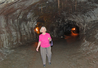 Inside Thurston Lava Tube