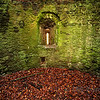 <p>Aged Walls of Usk Castle. Usk, Wales, UK</p>