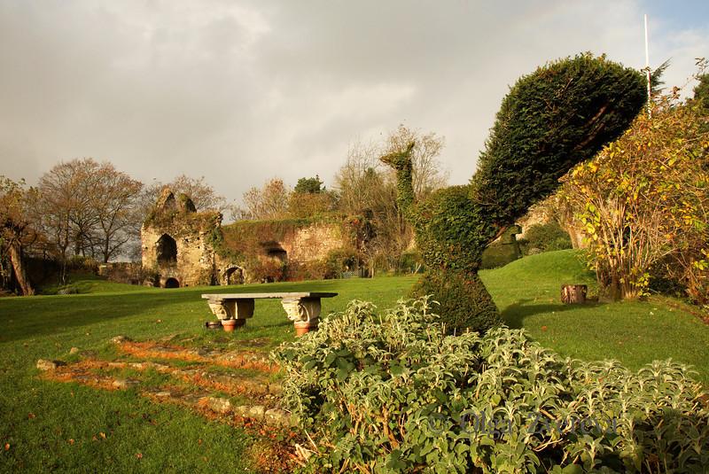 <p>Usk Castle, Usk, Wales, UK</p>