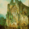 J. M. W. Turner (1775-1851) painted the abbey in 1794 (British Museum).