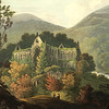 Southeast view of Tintern Abbey (D. Havell, 1815, British Library)