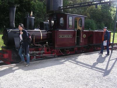 Wales trip Sep2007: Merthyr Brecon Steam Train