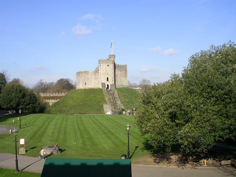 Cardiff Castle.  Keep.