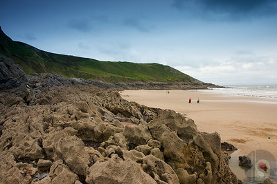 Caswell bay Gower- South Wales : UK