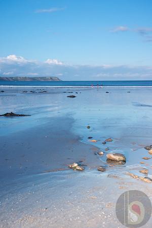 Oxwich bay Gower- South Wales : UK