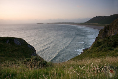 Rhossili Bay - Gower - South Wales : UK