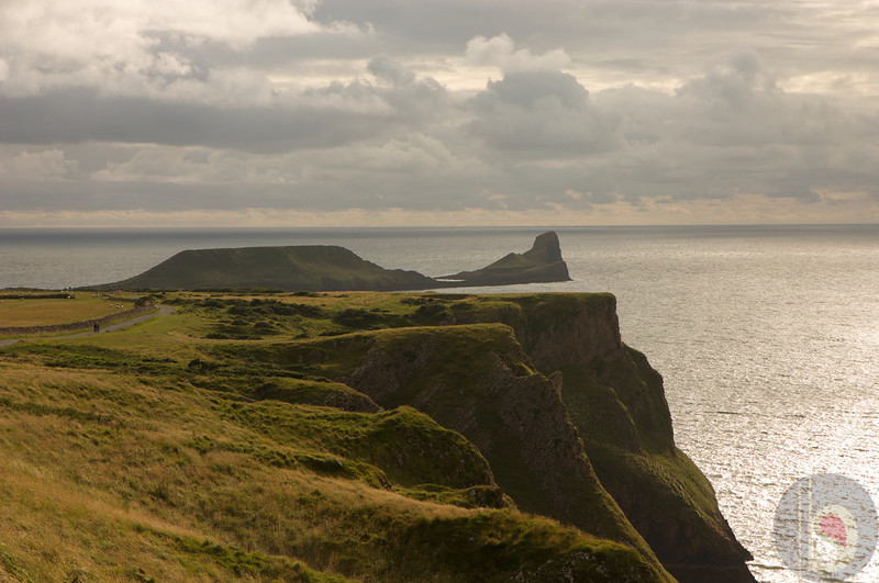 Worms head Rhossili - Gower - South Wales : UK