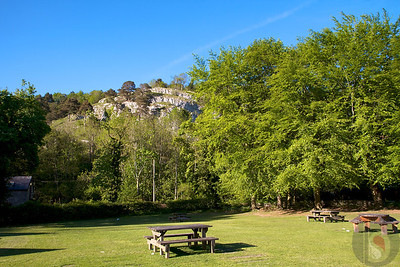 loggerheads country park - Area of outstanding Natural Beauty in north wales.
