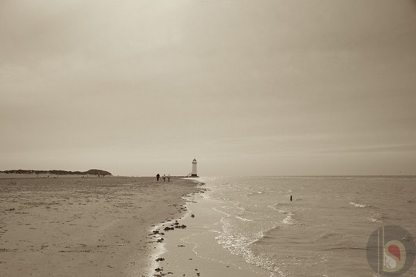 Point of ayr beach - North Wales : UK