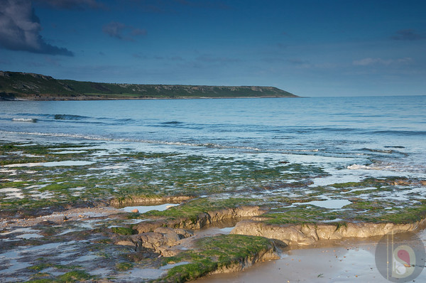 Gower bays -  Port Eynon  - South Wales : UK